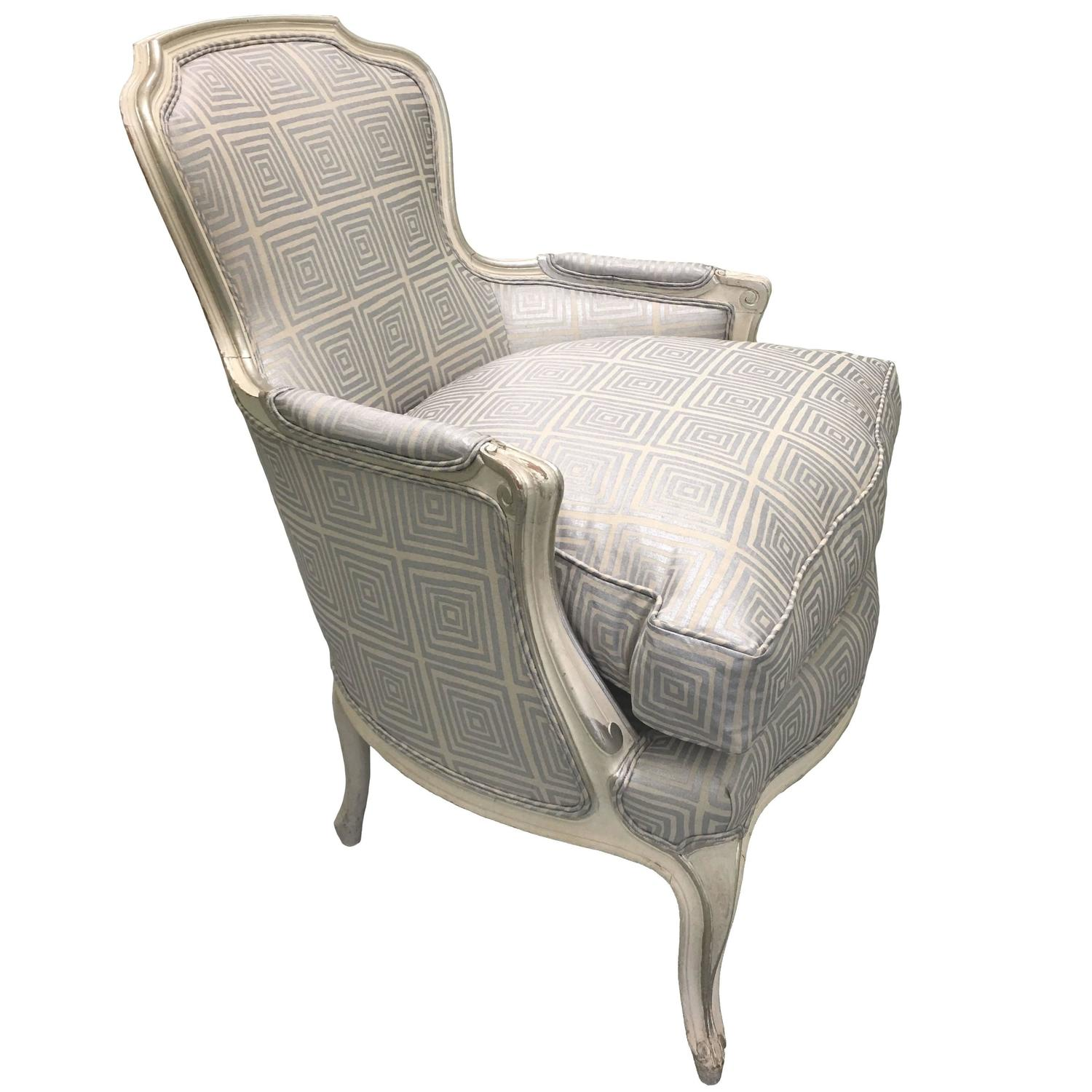Bergere chair french rococo - Bergere Chair French Rococo