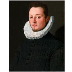 16th Century, Portrait of a Young Man by Santi di Tito