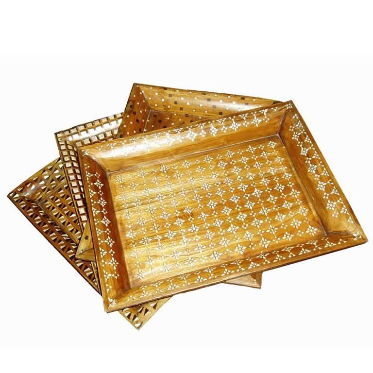 Mother-of-Pearl Inlaid Trays 1