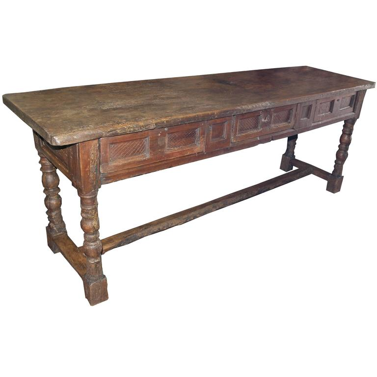 Antique Walnut Table For Sale At 1stdibs