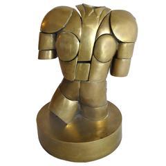 Torero Puzzle Sculpture by Miguel Ortiz Berrocal