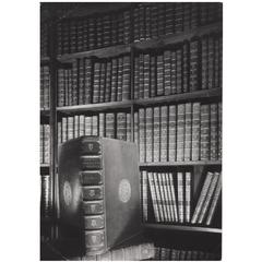 Vintage Photography Print by Lucca Chmel of the Austrian National Library, 1960s
