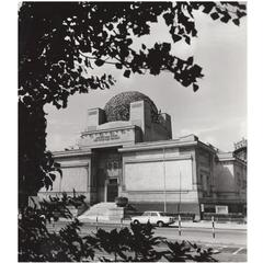 Vintage Photography Print by Lucca Chmel Secession Vienna, circa 1960s