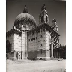 Vintage Photo by Lucca Chmel the Otto Wagner 'Steinhof Church,' Vienna