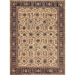 Late 19th Century Sultanabad Rug from West Persia