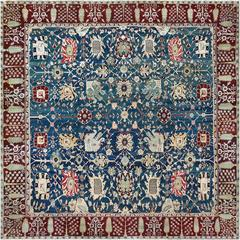 Late 19th Century Agra Rug from North India