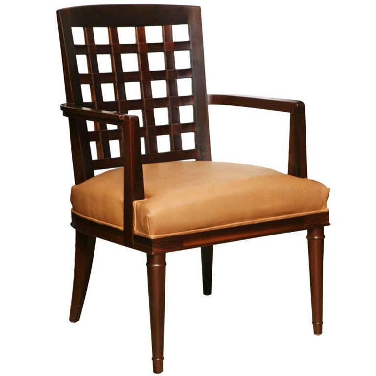 VW Grid Chair in Dark Maple For Sale at 1stdibs : x1l from 1stdibs.com size 768 x 768 jpeg 32kB