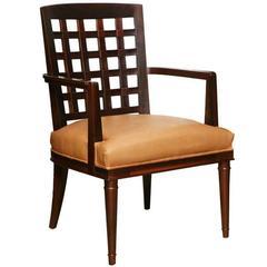 VW Grid Chair in Dark Maple