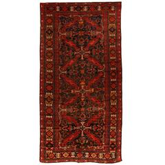 Antique Early 20th Century Caucasian Seychor Carpet