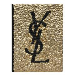 Brass Adorned Yves Saint Laurent Fashion Book by Brian Stanziale