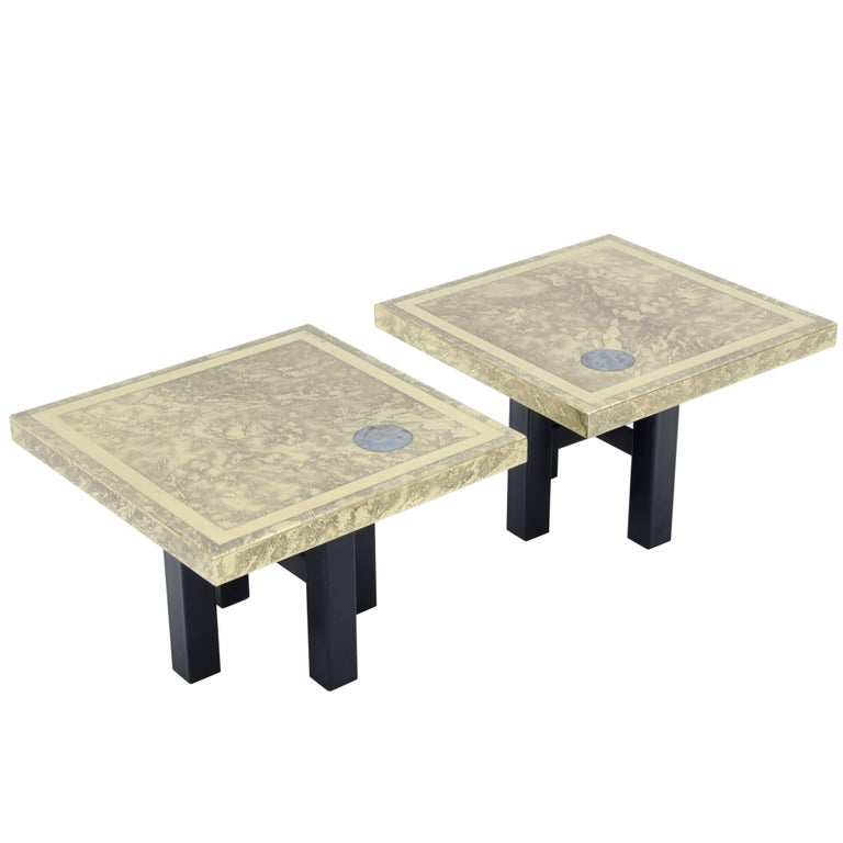 Side Tables by Lova Creation For Sale