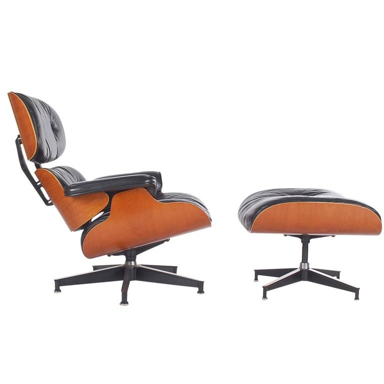 Charles Eames for Herman Miller Lounge Chair and Ottoman