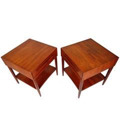 George Nakashima End Tables for Widdicomb