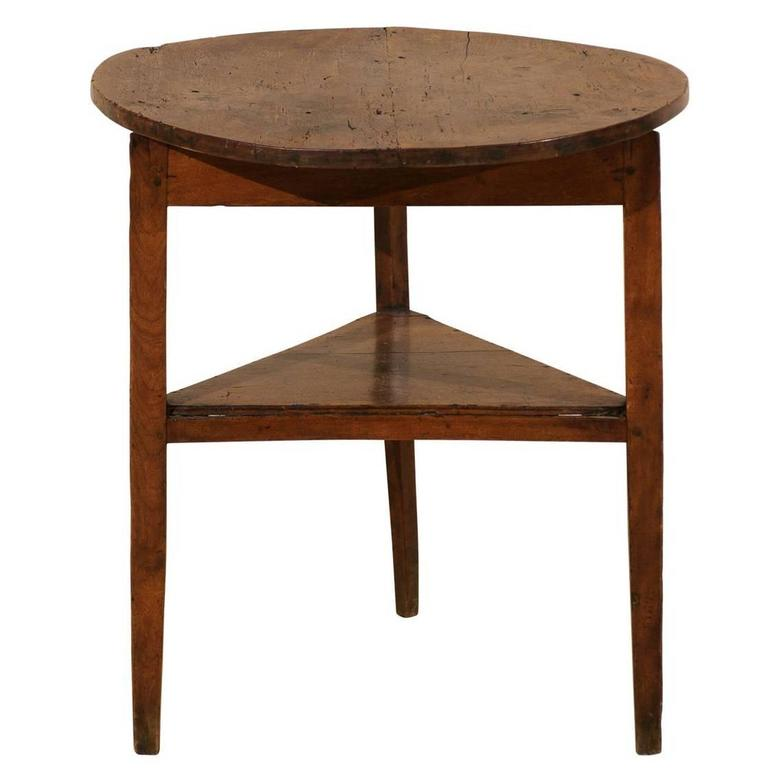 English vintage three legged cricket table at 1stdibs for England table