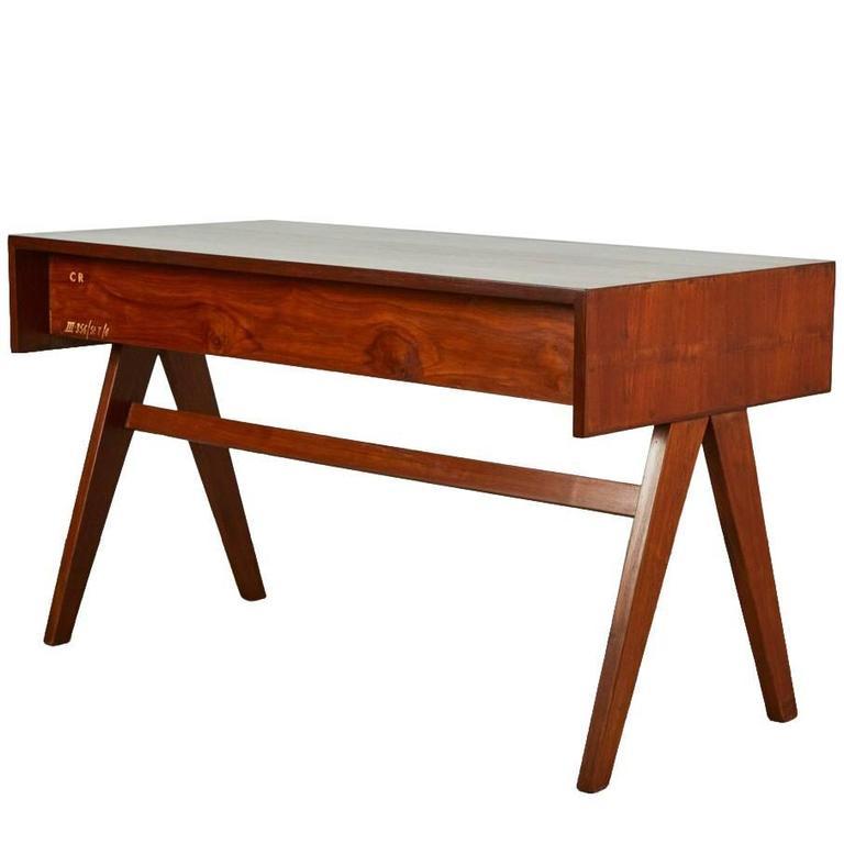 Pierre Jeanneret Desk For Sale