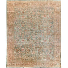 Antique Sultanabad Rug, circa 1880