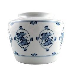 B&G Bing & Grondahl Porcelain Vase with Flowers, 1930s