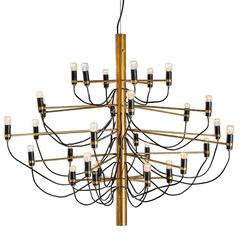 "Chandelier ""2097/30"" by Gino Sarfatti"