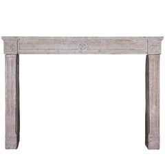 18th Century Original French Country Fireplace Mantle