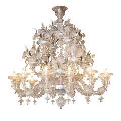 Drammatica Murano Glass Chandelier