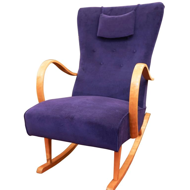 Swedish Art Deco Rocker For Sale