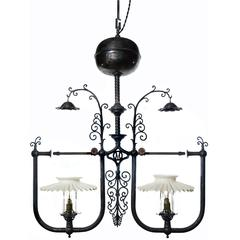 1900 Dr. Suess Style Gas Lamp