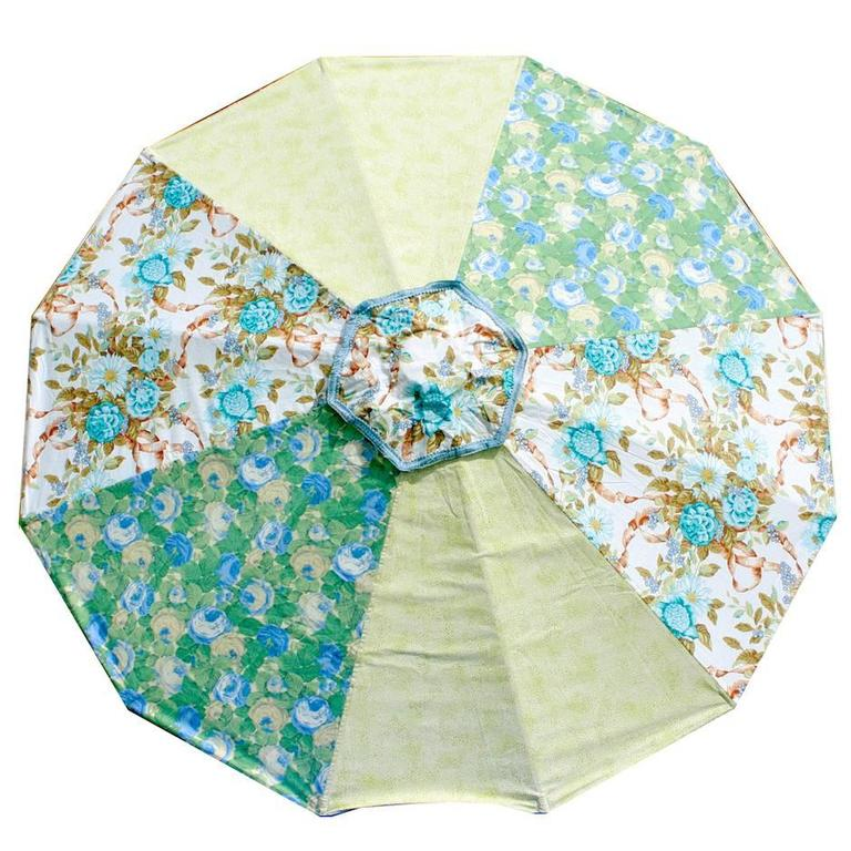 Sun Umbrella Beach Umbrella Vintage Fabric By Sunbeam Jackie For