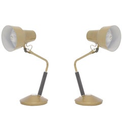 Pair of Norwegian Table Lamps by Jac Jacobsen, 1950s