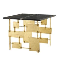 Raymond Low Black Marble Table