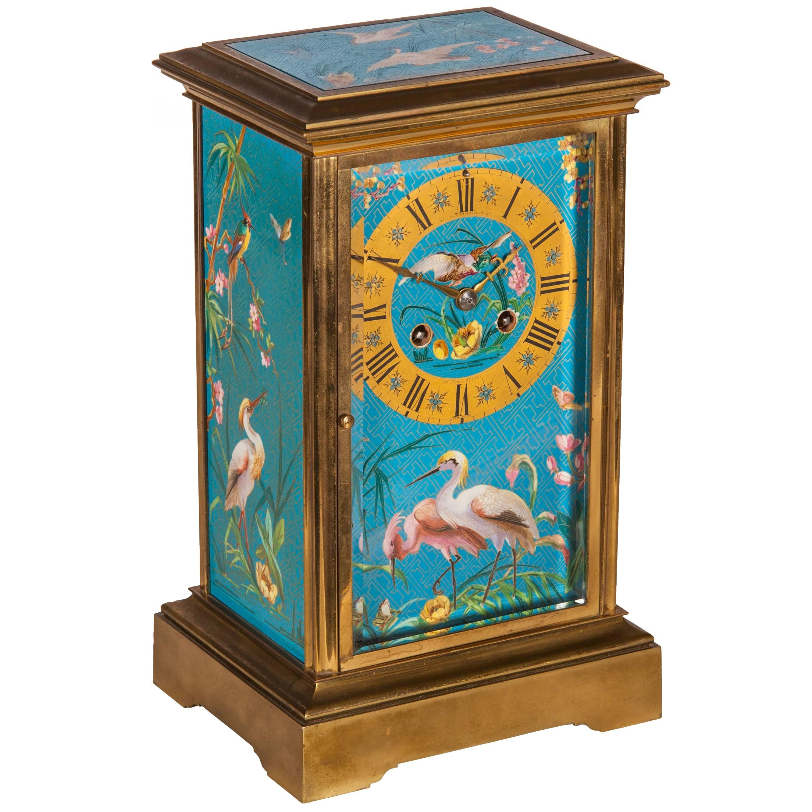 20th Century Alfred Dunhill Mantel Clock For Sale at 1stdibs