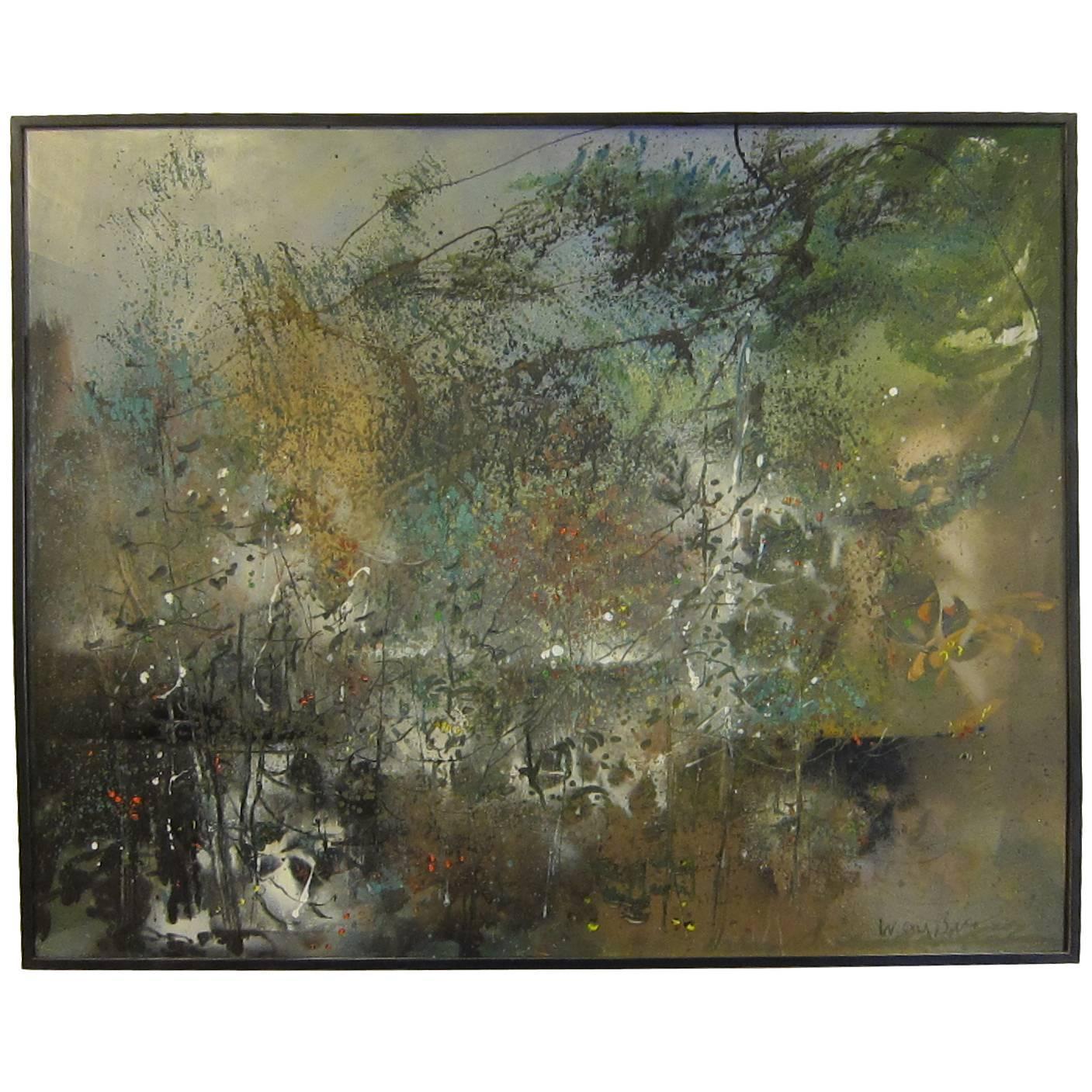W. Carl Burger Oil on Canvas