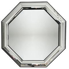 Mid-Century Modern Octagonal Mirror, 1970s