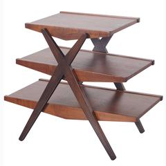Vintage Three-Tiered Table by Paul McCobb