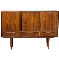 Mid-Century Modern Rosewood Wall Cabinet