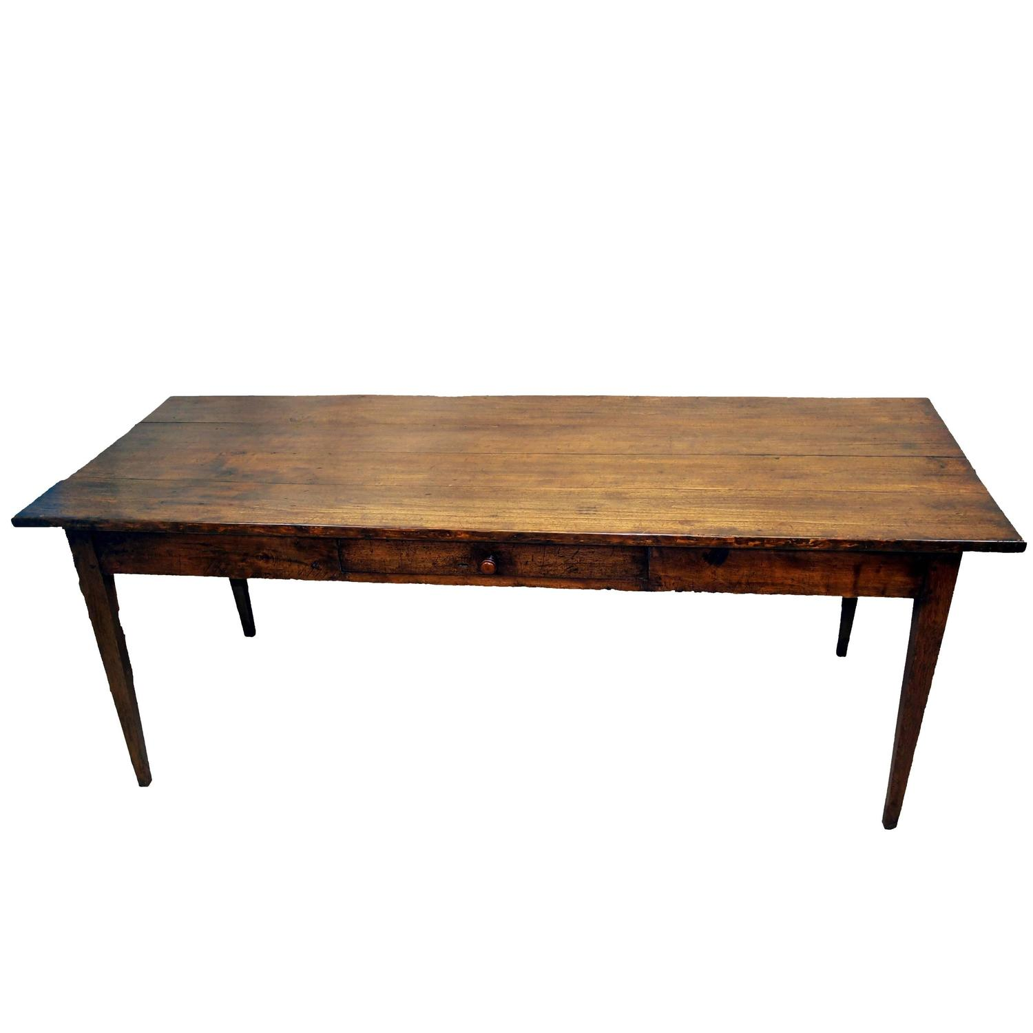 Antique French Farmhouse Dining Table at 1stdibs