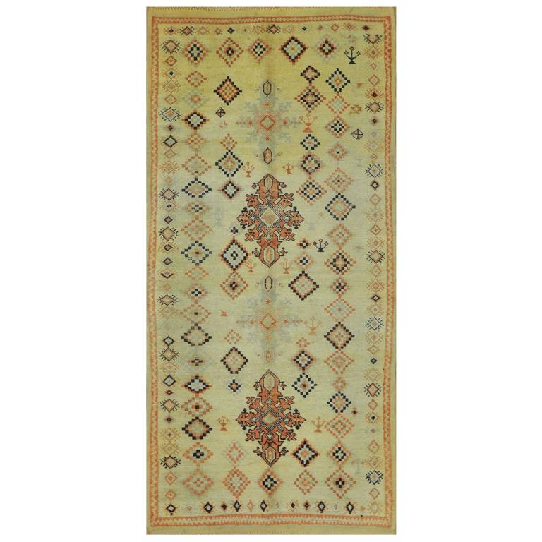 """Moroccan Boucherouite Rug For Sale At 1stdibs: Vintage Berber Hand-Knotted Moroccan """"Boucherouite"""" Rug At"""