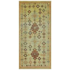 Vintage Hand-Knotted Moroccan Rug