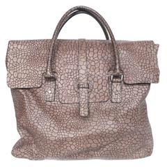 Leonello Borghi Embossed Leather Bag