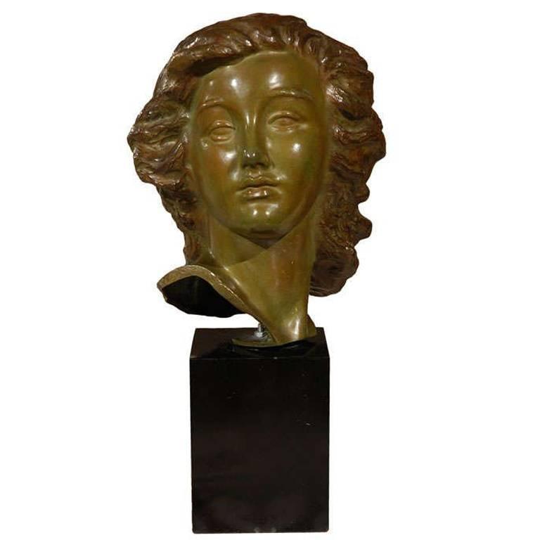 Alexandre Kelety Bronze Sculpture