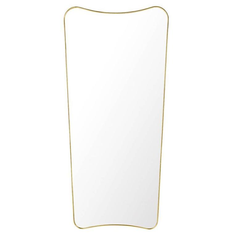 Large Rectangular Wall Mirror gio pontigubi f.a 33 rectangular wall mirror large for sale at