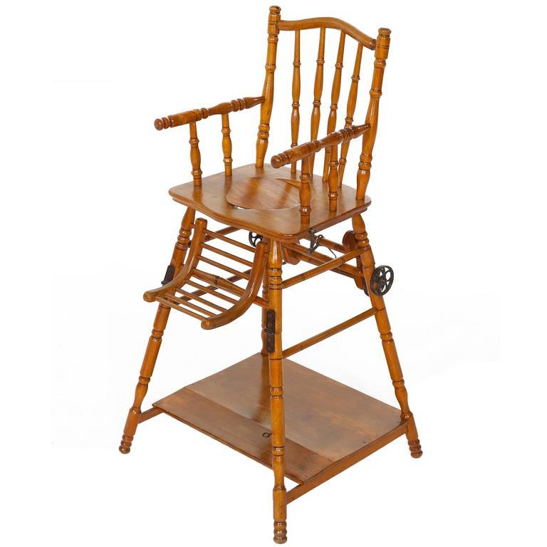 Jugendstil German Childs Chair, Germany, circa 1900s