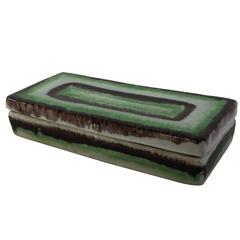 Bitossi Italy Art Pottery Box for Raymor