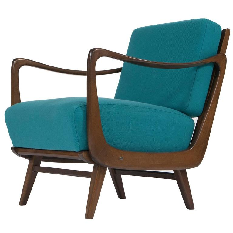 1950s Sculptural Mid Century Modern Lounge Chair At 1stdibs