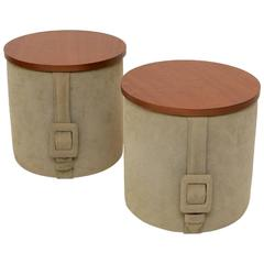 Pair of Tables Designed by Roger Landault