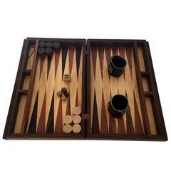 Handmade Backgammon Game Set by Don Shoemaker