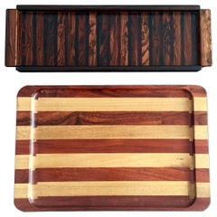 Two Tabletop Trays by Don Shoemaker