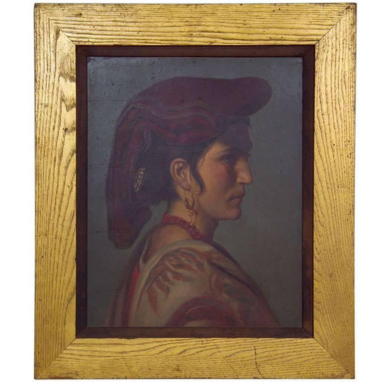19th Century Portrait of an Italian Woman
