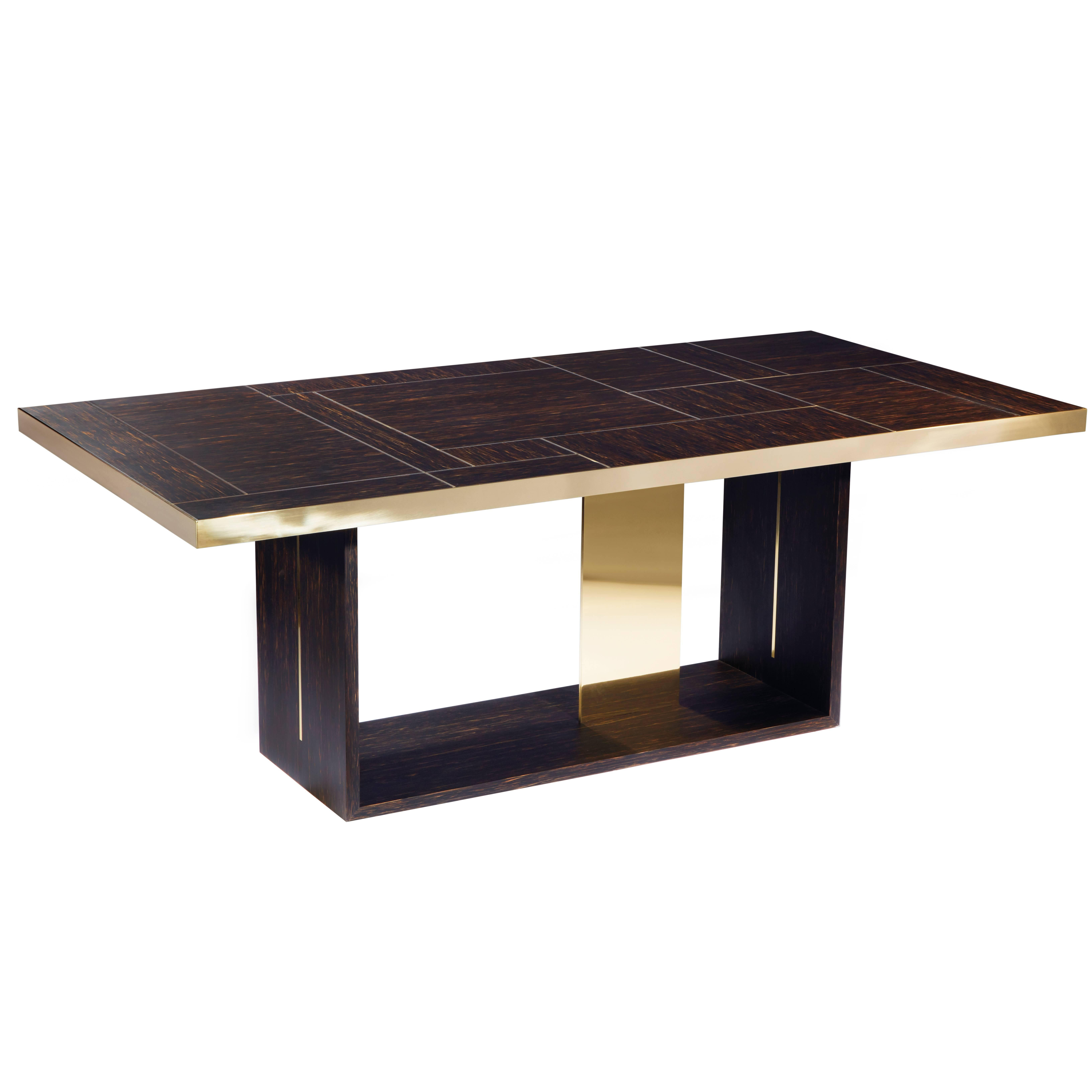 """Table """"Square"""" by Hervé Langlais for Galerie Negropontes"""