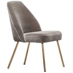 Carlo Pagani Lounge Chair New Upholstery