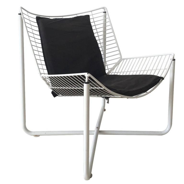 Jarpen Wire Chair By Niels Gammelgaard For Ikea, 1983 For Sale